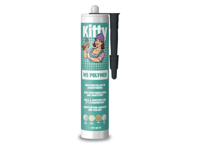KITTY ms-polymer - montagekit, ZWART