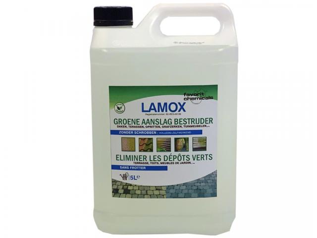 Lamox groene aanslag bestrijder - 5 liter